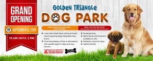 golden triangle dog park