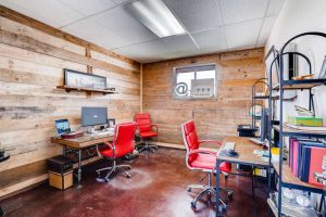 Coworking space in the Fort Worth Design District