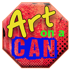 art on a can